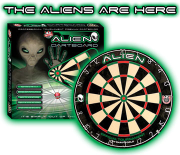Alien Dartboards!