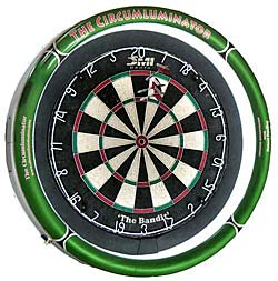 the Circumluminator Dartboard Light