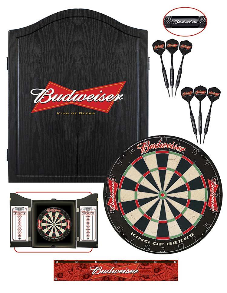 Budweiser Dartboard Package